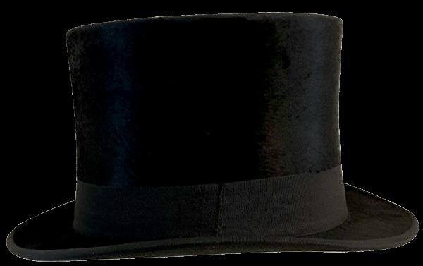 Hoge hoed / Top Hat voor heren - The Hatshop Arnhem