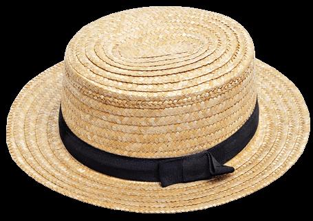 Boater hoed voor heren - The Hatshop Arnhem