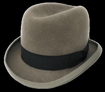 Homburg hoed voor heren - The Hatshop Arnhem